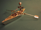 Rowing Boat Model