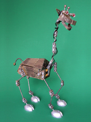 The Ruminator - Robotic giraffe model